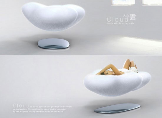 concept design cloud-sofa