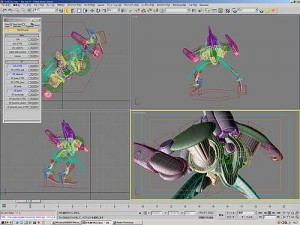 3D computer generated sequences for game animation