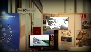 virtual tour presentation by Panorender team at 2014 Cityscape Dubai