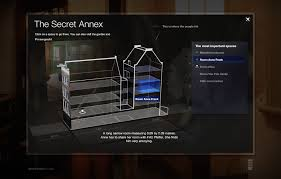 The Secret Annex Online - interactive virtual tour