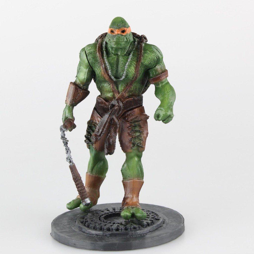 3D Prints The Mutant Ninja Turtles
