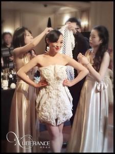 Xuberance uses nylon powder to 3D print dresses