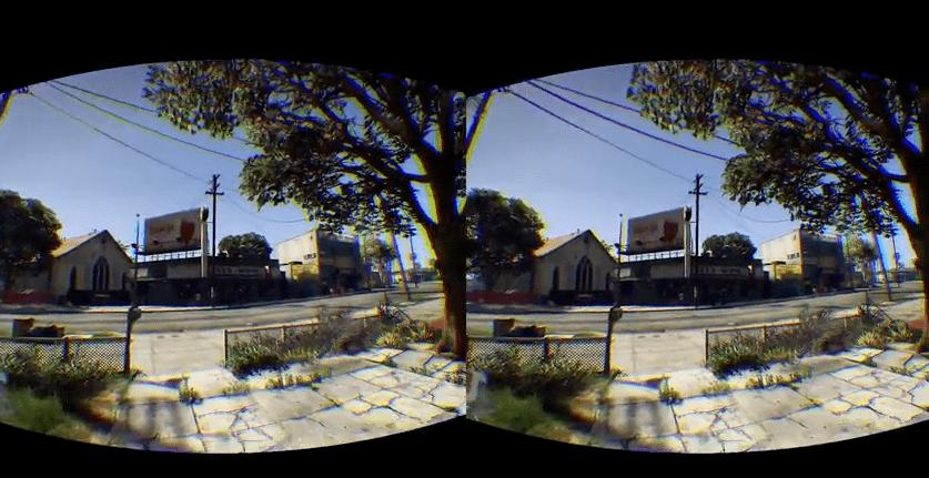 GTA 5 Virtual Reality with the Oculus Rift Mod