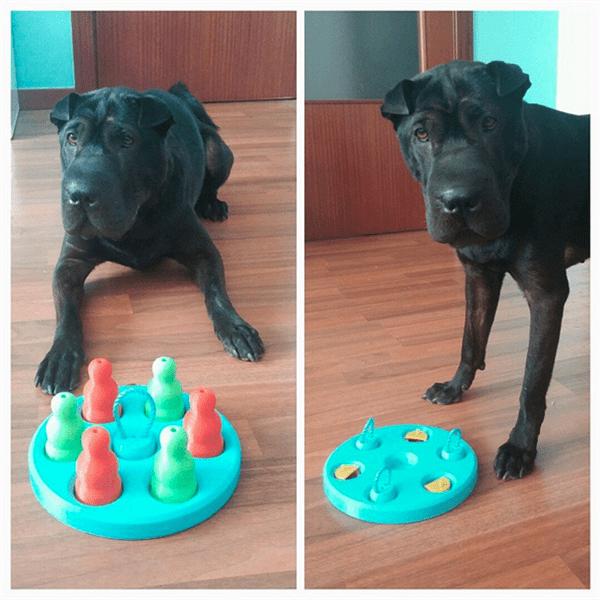 3D printable 'Dog's Game'