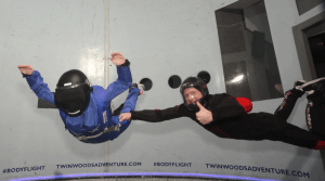 Indoor Skydiving and VR
