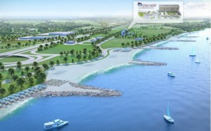lakefront real estate project