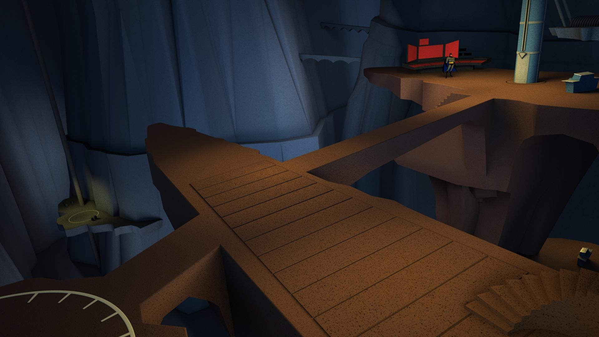 VR Project Exlores Batman's Cave