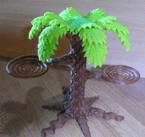 3D Custom Printed Palm Tree – A New Form of DIY Fruit Holder