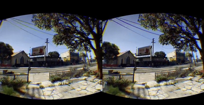 GTA 5 Virtual Reality with the Oculus Rift Mod