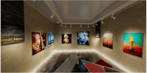 virtual art gallery exhibition